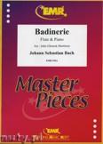 Ok�adka: Bach Johann Sebastian, Badinerie - Flute