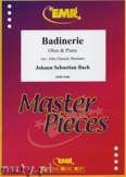 Okładka: Bach Johann Sebastian, Badinerie - Oboe