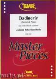 Okładka: Bach Johann Sebastian, Badinerie - CLARINET