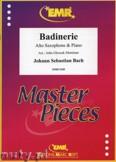 Okładka: Bach Johann Sebastian, Badinerie - Saxophone