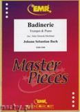 Ok�adka: Bach Johann Sebastian, Badinerie - Trumpet