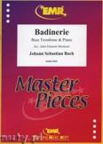 Okładka: Bach Johann Sebastian, Badinerie - Trombone