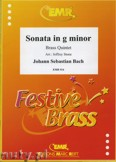 Ok�adka: Bach Johann Sebastian, Sonata in g minor  - BRASS ENSAMBLE