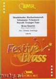 Okładka: Armitage Dennis, Brass Quartet (SCHUMANN: Träumerei, PURCELL: Trumpet Tune, MENDELSSOHN: Hochzeitsmarsch) - BRASS ENSAMBLE
