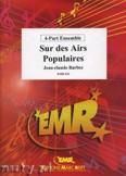 Ok�adka: Barbez Jean-Claude, Sur des Airs Populaires - BRASS ENSAMBLE