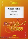 Okładka: Strauss Johann, Czech Polka - BRASS ENSAMBLE