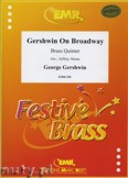 Okładka: Gershwin George, Gershwin on Broadway  - BRASS ENSAMBLE