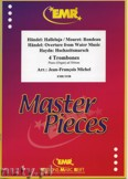 Ok�adka: Michel Jean-Fran�ois, 4 Trombones (H�NDEL: Halleluja, H�NDEL: Overture from Water Music, HAYDN: Hochzeitsmarsch, MOURET: Rondeau) - Trombone