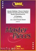 Okładka: Michel Jean-François, 4 Clarinets (HÄNDEL: Halleluja, HÄNDEL: Overture from Water Music, HAYDN: Hochzeitsmarsch, MOURET: Rondeau) - CLARINET