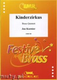 Okładka: Koetsier Jan, Kinderzirkus Op. 79B - BRASS ENSAMBLE
