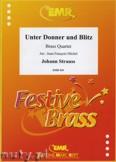 Okładka: Strauss Johann, Unter Donner & Blitz  - BRASS ENSAMBLE