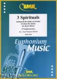 Ok�adka: Michel Jean-Fran�ois, 3 Spirituals - Euphonium