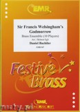 Okładka: Bachiler Daniel, Sir Francis Welsingham's Godmorrow for Brass Ensemble (10 Players)