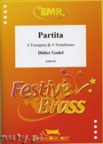 Ok�adka: Godel Didier, Partita for 4 Trumpets and 4 Trombones