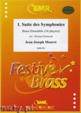 Okładka: Mouret Jean-Joseph, 1. Suite des Symphonies for Brass Ensemble (10 players)