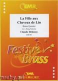Ok�adka: Debussy Claude, La Fille aux Cheveux de Lin - BRASS ENSAMBLE