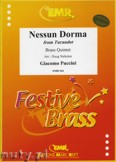 Okładka: Puccini Giacomo, Nessun Dorma from Turandot - BRASS ENSAMBLE