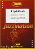 Okładka: Michel Jean-François, 4 Spirituals (Brass Quartet or Quintet) - BRASS ENSAMBLE