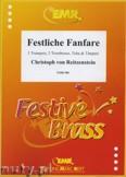 Okładka: Reitzenstein Christoph Von, Festliche Fanfare for 3 Trumpets, 3 Trombones, Tuba and Timpani