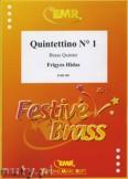 Okładka: Hidas Frigyes, Quintettino N° 1 - BRASS ENSAMBLE