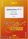 Okładka: Hidas Frigyes, Quintettino N° 3 - BRASS ENSAMBLE