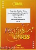 Okładka: Sansonnens Bernard, Concede, Domine Deus - BRASS ENSAMBLE