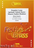 Okładka: Armitage Dennis, Brass Quartet (MOURET: Fanfare-Rondeau, PERGOLESI: Largo, SPIRITUAL: Nobody Knows) - BRASS ENSAMBLE