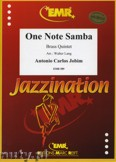 Okładka: Jobim Antonio Carlos, One Note Samba  - BRASS ENSAMBLE