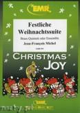 Okładka: Michel Jean-François, Festliche Weihnachtssuite - BRASS ENSAMBLE