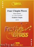 Okładka: Frackenpohl Arthur, 4 Chopin Pieces - BRASS ENSAMBLE