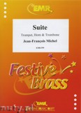 Okładka: Michel Jean-François, Suite - BRASS ENSAMBLE
