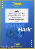 Ok�adka: Bach Johann Sebastian, Aria: Streite, siege, starker Held - Trumpet