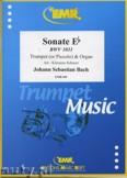 Okładka: Bach Johann Sebastian, Sonate Es-Dur  - Trumpet