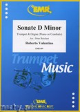Ok�adka: Valentino Roberto, Sonate in d-moll  - Trumpet