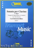 Ok�adka: Biber Carl Heinrich, Sonata per Clarino C-Dur - Trumpet