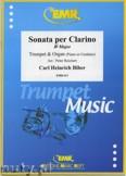 Ok�adka: Biber Carl Heinrich, Sonata per Clarino B-Dur - Trumpet