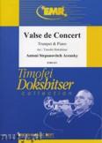 Okładka: Arensky Antoni Stepanovitch, Valse de Concert - Trumpet