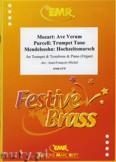Okładka: Michel Jean-François, Utwory na trąbkę, puzon i fortepian (MENDELSSOHN: Hochzeitsmarsch, MOZART: Ave Verum, PURCELL: Trumpet Tune) - BRASS ENSAMBLE
