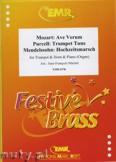 Okładka: Michel Jean-François, Utwory na trąbkę, róg i fortepian (MENDELSSOHN: Hochzeitsmarsch, MOZART: Ave Verum, PURCELL: Trumpet Tune) - BRASS ENSAMBLE