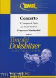 Okładka: Manfredini Francesco, Concerto  for 9 Trumpets and Piano