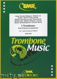 Okładka: Michel Jean-François, Utwory na 2 puzony i fortepian (kompozytorzy: PURCELL, PEZEL, HAYDN, HÄNDEL, GLUCK, FISCHER) - Trombone