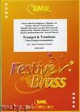 Okładka: Michel Jean-François, Utwory na trąbkę(kornet), puzon (euphonium) i fortepian (kompozytorzy: PURCELL, PEZEL, HAYDN, HÄNDEL, GLUCK, FISCHER) - BRASS ENSAMBLE