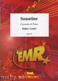 Okładka: Godel Didier, Sonatine - CLARINET