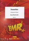 Okładka: Daetwyler Jean, Sonatine - CLARINET