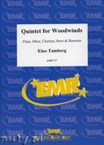 Ok�adka: Tamberg Eino, Quintet for Woodwinds Op. 50