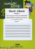Okładka: Różni, Duett Album Vol. 1 for Bb Trumpet (Cornet) and Euphonium