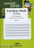 Okładka: Michel Jean-François, Feierliche Musik - Trio Album - CLARINET