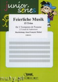 Okładka: Michel Jean-François, Feierliche Musik - Trio Album - BRASS ENSAMBLE