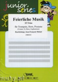 Ok�adka: Michel Jean-Fran�ois, Feierliche Musik - Trio Album - BRASS ENSAMBLE