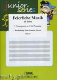 Ok�adka: Michel Jean-Fran�ois, Feierliche Musik (Trpt. in C) - BRASS ENSAMBLE
